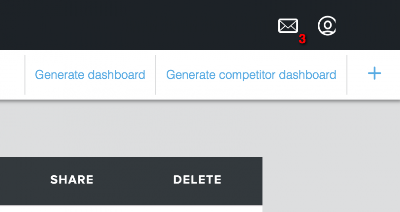 Create Dashboard buttons