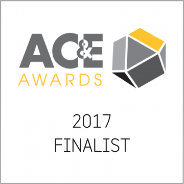 AC&E Awards 2017 Finalist Logo