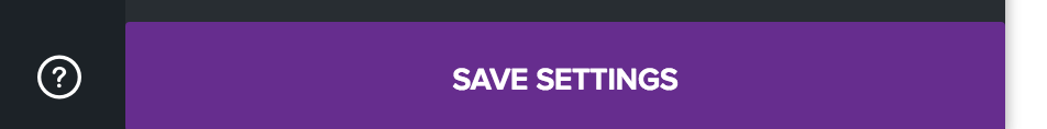 Report Step 5 : Save Settings