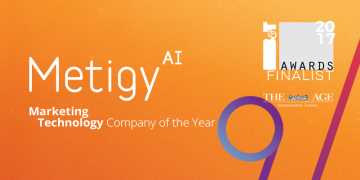 Metigy shortlisted as a Finalist in the 2017 B&T Awards