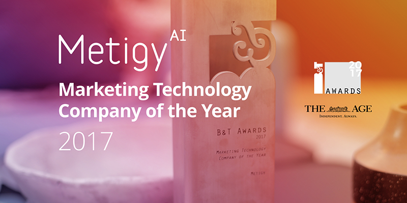 Metigy named Best Marketing Technology Company of the Year