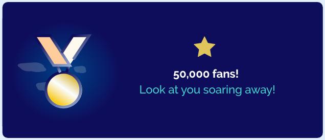 Marketing Milestone Award Card - Metigy AI