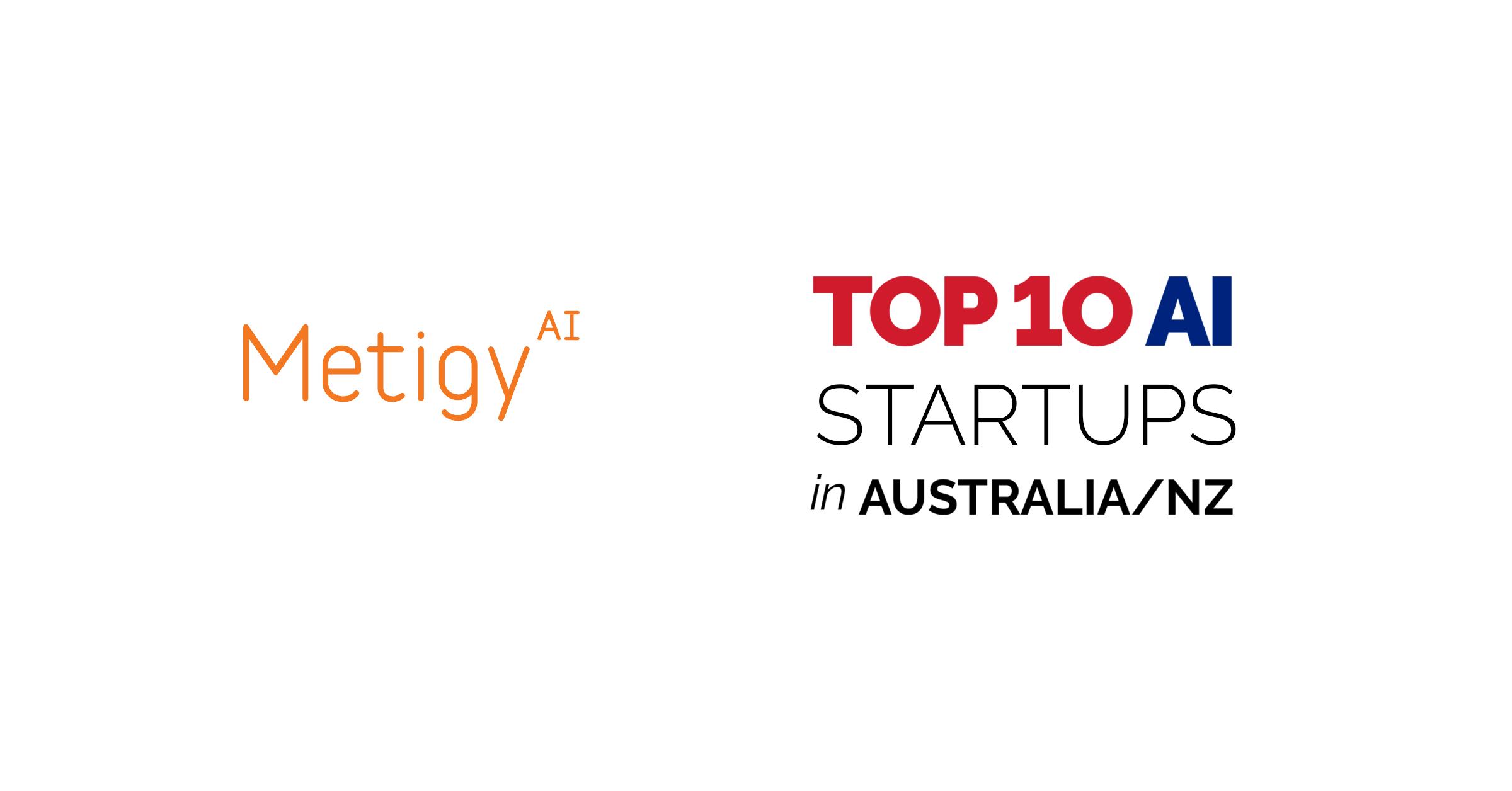 Nanalyze confirms Metigy in the top 10 AI Startups in Australia & New Zealand
