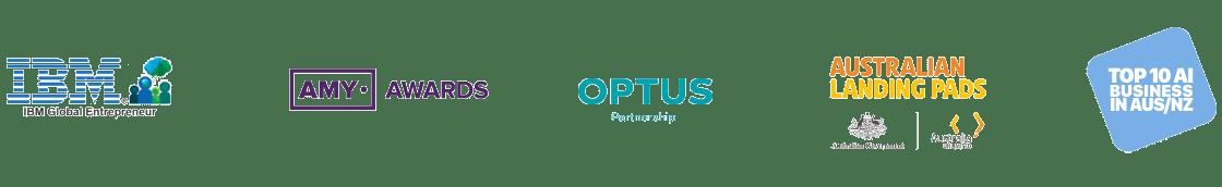 metigy awards IBM, Optus, Australian Landing Pad, AMY Awards