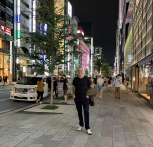 Metigy CEO David Fairfull visits Tokyo