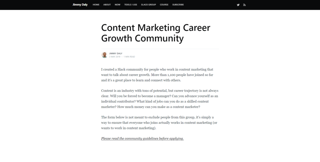 content-marketing-career-growth-community