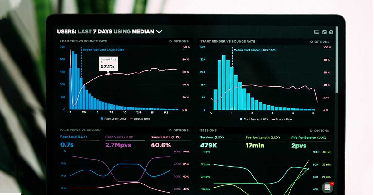 Social media analytics on a dashboard that a small business owner might use.